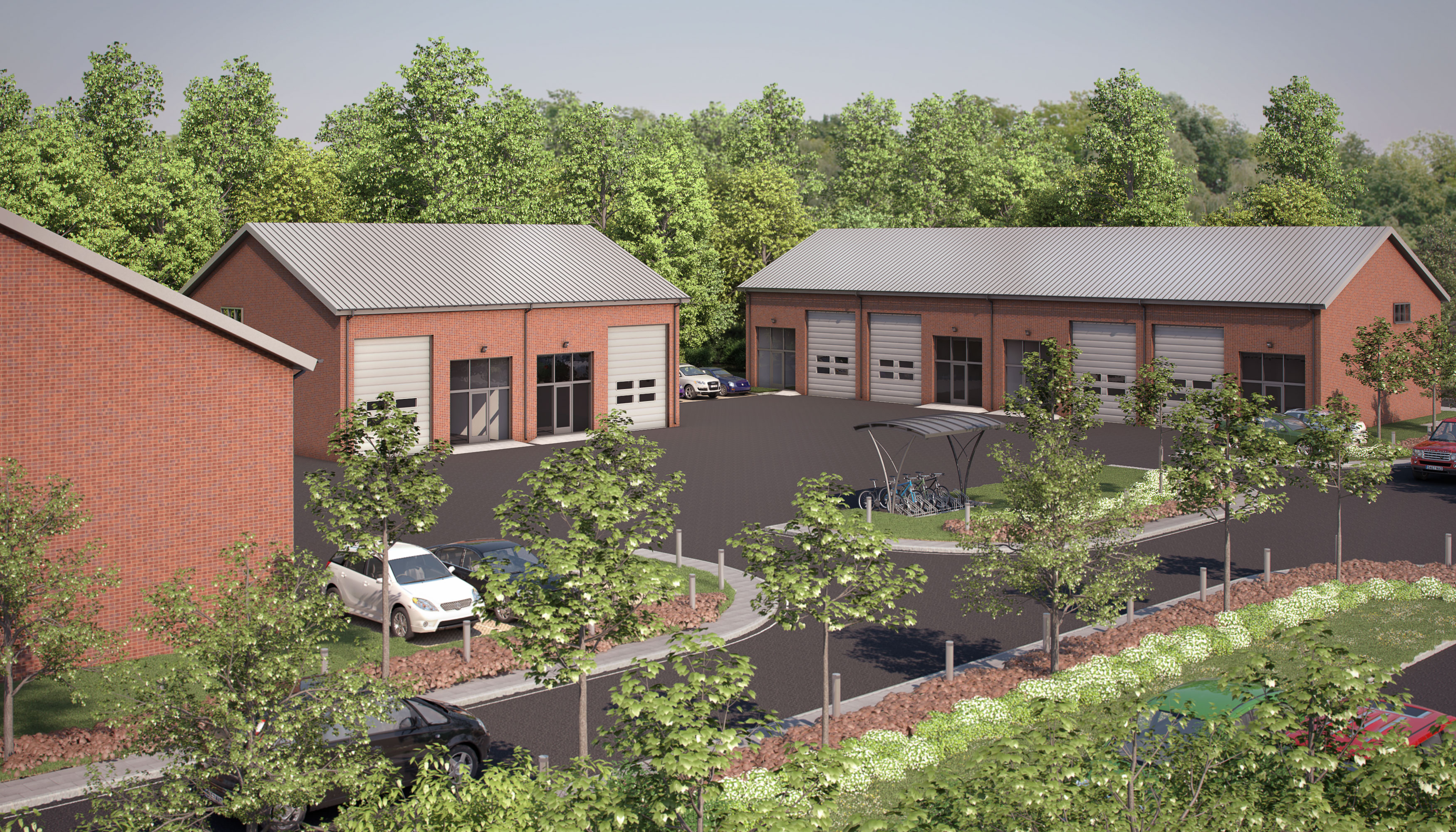 Apollo Office Park near Banbury computer generated image